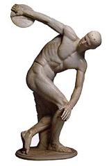 Statue aus dem Antikenmuseum Basel und Sammlung Ludwig