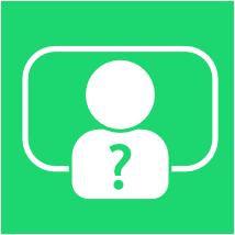 Icon: Lehrer vor Tafel