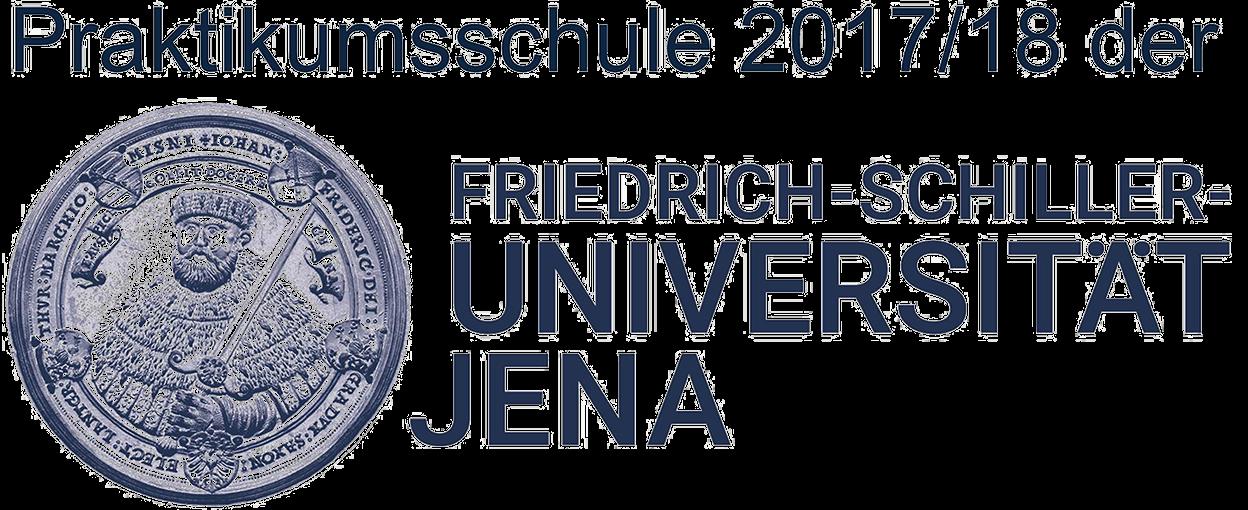 Wir sind Praktikumsschule der Universität Jena 2017/18.