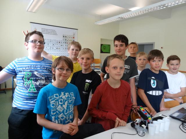 Bild Lego-Team
